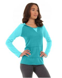 Miko Pullover Hoodie-M-Blue